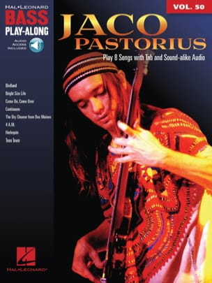 Jaco Pastorius - Bass Play-Along Volumen 50 - Jaco Pastorius - Partition - di-arezzo.es