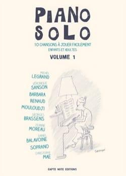 Piano Solo - Volume 1 Partition Chanson française - laflutedepan