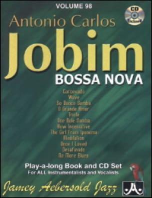 Volume 98 - Carlos Jobim - METHODE AEBERSOLD - laflutedepan.com