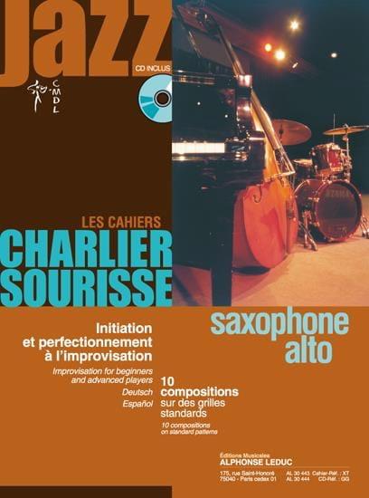 Les Cahiers Charlier Sourisse - 10 Compositions sur des Grilles Standards - laflutedepan.com