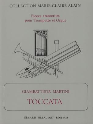 Toccata Giambattista Martini Partition Trompette - laflutedepan
