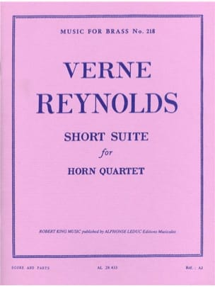 Verne Reynolds - Suite corta - Partition - di-arezzo.es