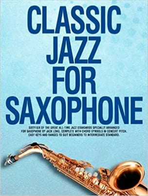 Classic Jazz For Saxophone Partition Saxophone - laflutedepan