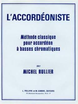 L' Accordéoniste - Méthode Classique Michel Rullier laflutedepan