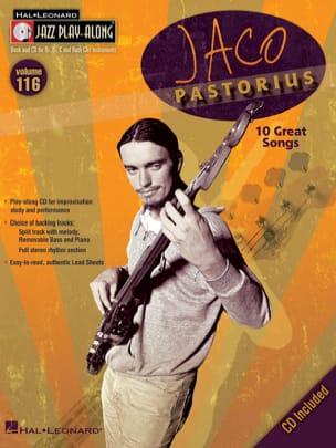 Jaco Pastorius - Jazz Play-Along Volumen 116 - Jaco Pastorius - Partition - di-arezzo.es