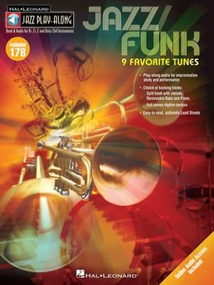 Jazz Play-Along Volume 178 - Jazz / Funk Partition laflutedepan