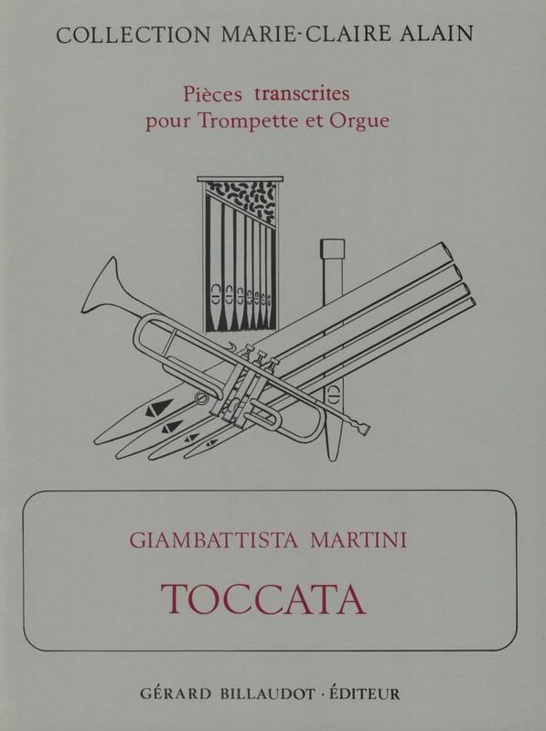 Toccata - Giambattista Martini - Partition - laflutedepan.com