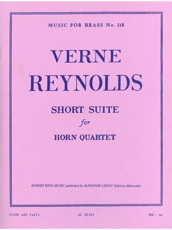 Short Suite - Verne Reynolds - Partition - Cor - laflutedepan.com