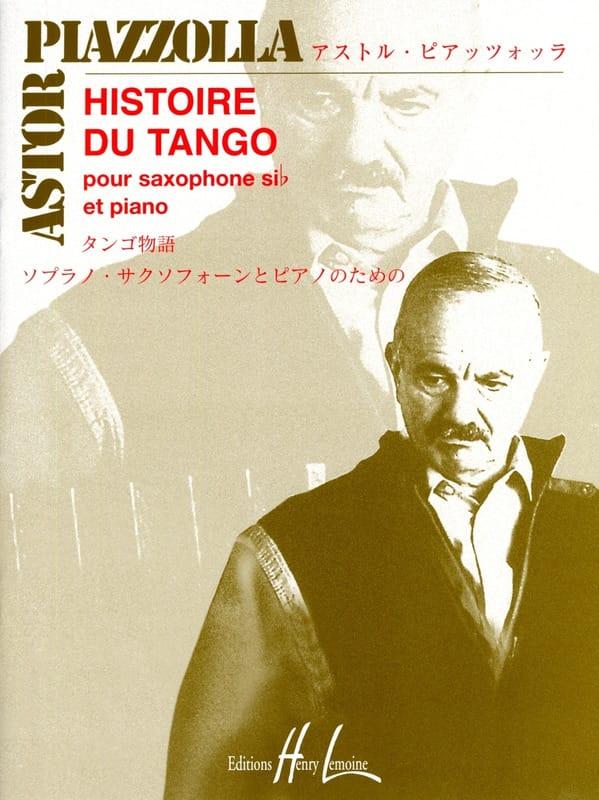 Histoire du tango - Astor Piazzolla - Partition - laflutedepan.com