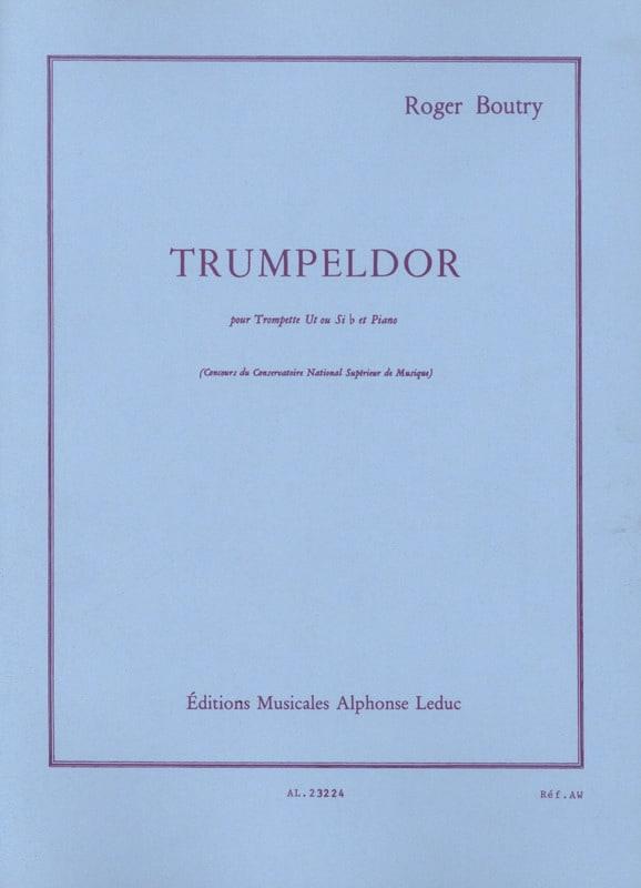 Trumpeldor - Roger Boutry - Partition - Trompette - laflutedepan.com