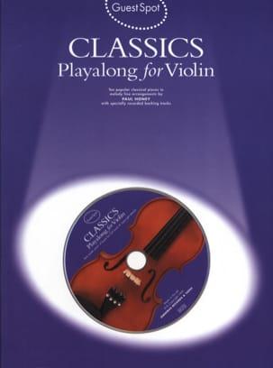 Guest Spot - Classics Playalong For Violin Partition laflutedepan