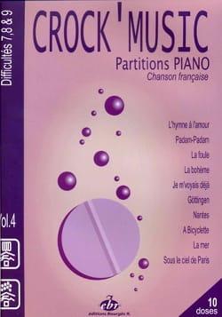 Crock' music volume 4 Partition Chanson française - laflutedepan