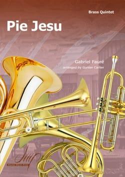 Pie Jesus - Pour Quintette de Cuivres - FAURÉ - laflutedepan.com
