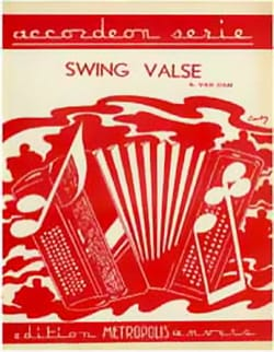 Swing Valse - Albert Van Dam - Partition - laflutedepan.com