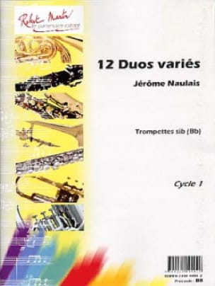12 Duos Variés Pour Trompettes - Jérôme Naulais - laflutedepan.com