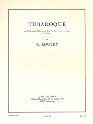 Tubaroque Roger Boutry Partition Tuba - laflutedepan