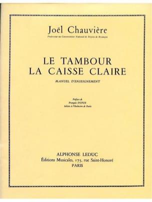 Tambour Chauvière Partition Caisse-claire - laflutedepan