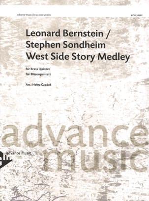 West Side Story Medley BERNSTEIN Partition laflutedepan