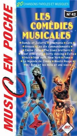 Music en poche N° 42 - les Comédies Musicales Partition laflutedepan
