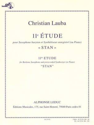 Christian Lauba - 11º Estudio Stan - Partition - di-arezzo.es