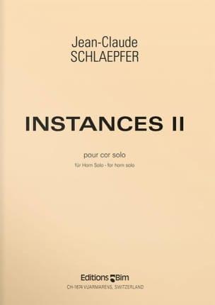 Instances I I Jean-Claude Schlaepfer Partition Cor - laflutedepan