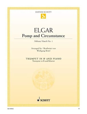 Pomp and Circumstance - Military March N° 1, Opus 39/1 laflutedepan