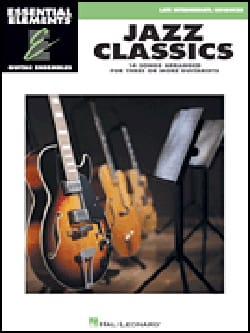 Jazz Classics - 14 Songs arranged for three or more guitarists laflutedepan