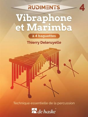 Rudiments 4 - Vibraphone et Marimba à 4 baguettes laflutedepan
