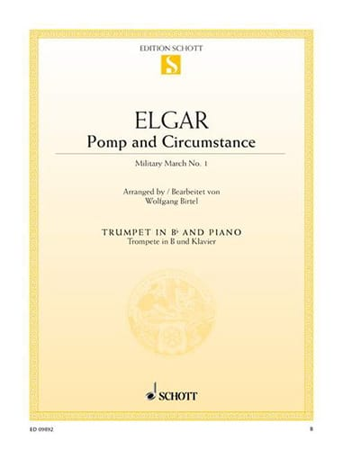 Pomp and Circumstance - Military March N° 1, Opus 39/1 - laflutedepan.com