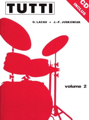 Tutti Volume 2 Juskowiak Jacques-François / Lacau Olivier laflutedepan