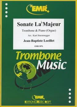 Sonate La bémol Majeur LOEILLET Partition Trombone - laflutedepan