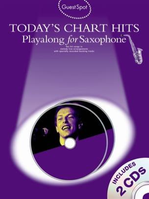 Guest Spot - Today's Chart Hits Playalong For Alto Saxophone laflutedepan