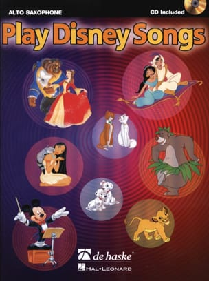 Play Disney songs DISNEY Partition Saxophone - laflutedepan