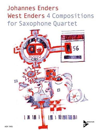 West Enders - West Enders - Partition - Saxophone - laflutedepan.com