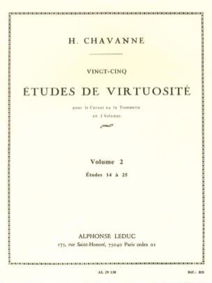 25 Etudes de Virtuosité Volume 2 - Etudes 14 à 25 laflutedepan