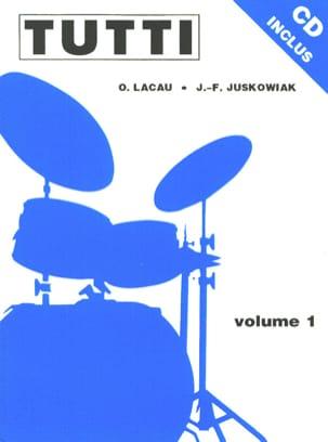 Tutti Volume 1 Jacques-François Juskowiak & Olivier Lacau laflutedepan