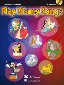 Play Disney songs DISNEY Partition Saxophone - laflutedepan