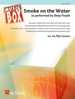 Smoke on the Water - Musix Box Deep Purple Partition laflutedepan