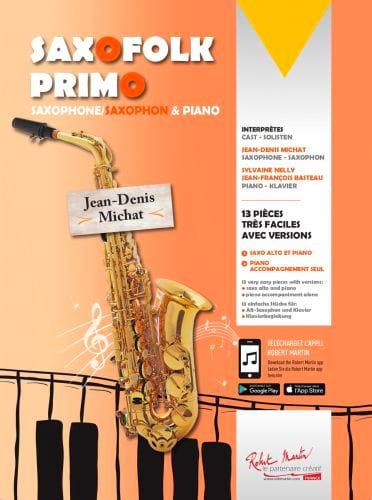 Saxofolk Primo Volume 0 - Partition - Saxophone - laflutedepan.com