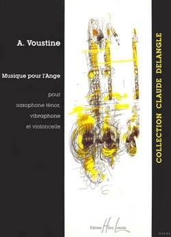 Musique Pour L' Ange Voustine Partition Saxophone - laflutedepan