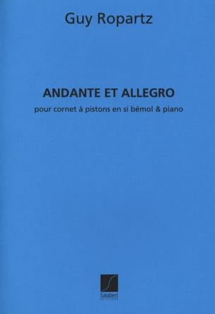 Andante et Allegro version sib Joseph-Guy Ropartz laflutedepan
