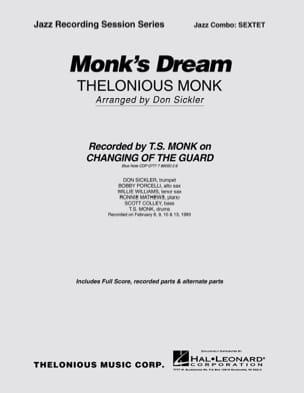 Monk's Dream Thelonious Monk Partition ENSEMBLES - laflutedepan