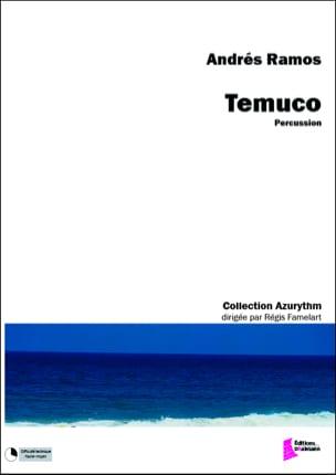 Temuco Andrés Ramos Partition Ensemble de percussions - laflutedepan