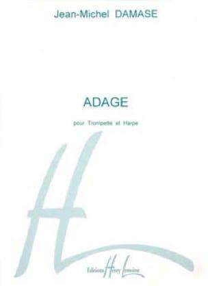 Adage - Jean-Michel Damase - Partition - Trompette - laflutedepan.com