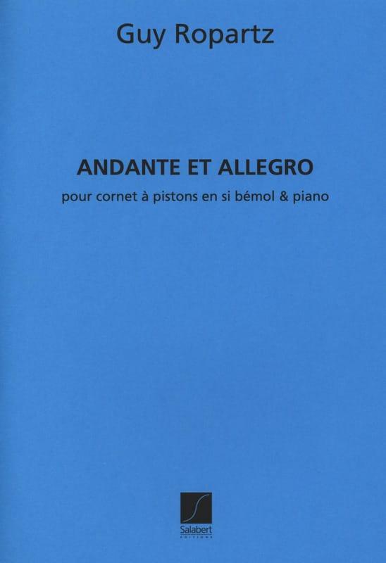 Andante et Allegro version sib - Joseph-Guy Ropartz - laflutedepan.com