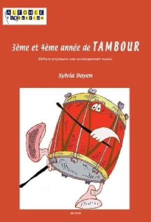 3ème Et 4ème Année de Tambour - Sylvia Doyen - laflutedepan.com
