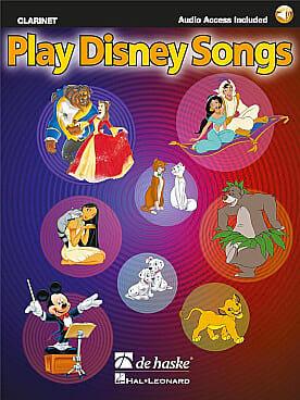 Play Disney songs - DISNEY - Partition - Clarinette - laflutedepan.com