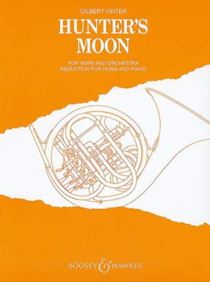 Hunter's Moon Gilbert Vinter Partition Cor - laflutedepan