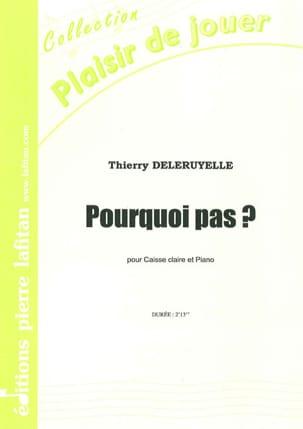 Pourquoi Pas ? Thierry Deleruyelle Partition laflutedepan