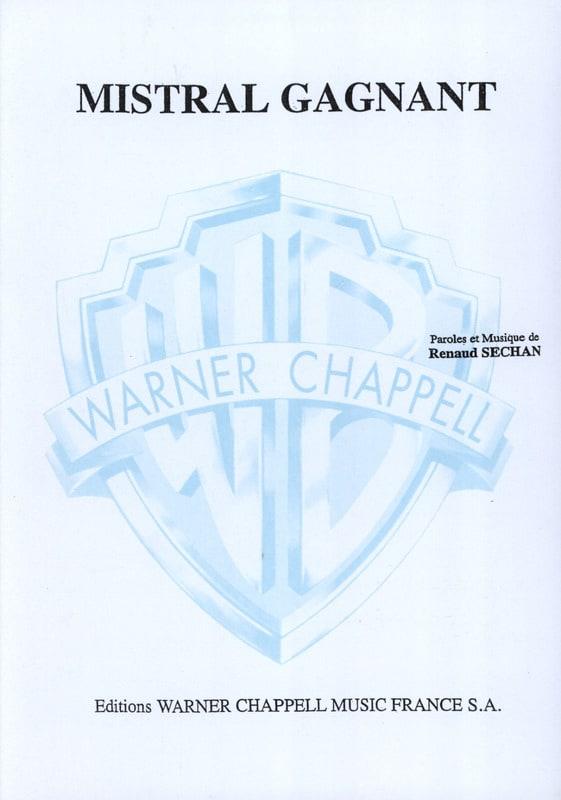 Mistral Gagnant - RENAUD - Partition - laflutedepan.com
